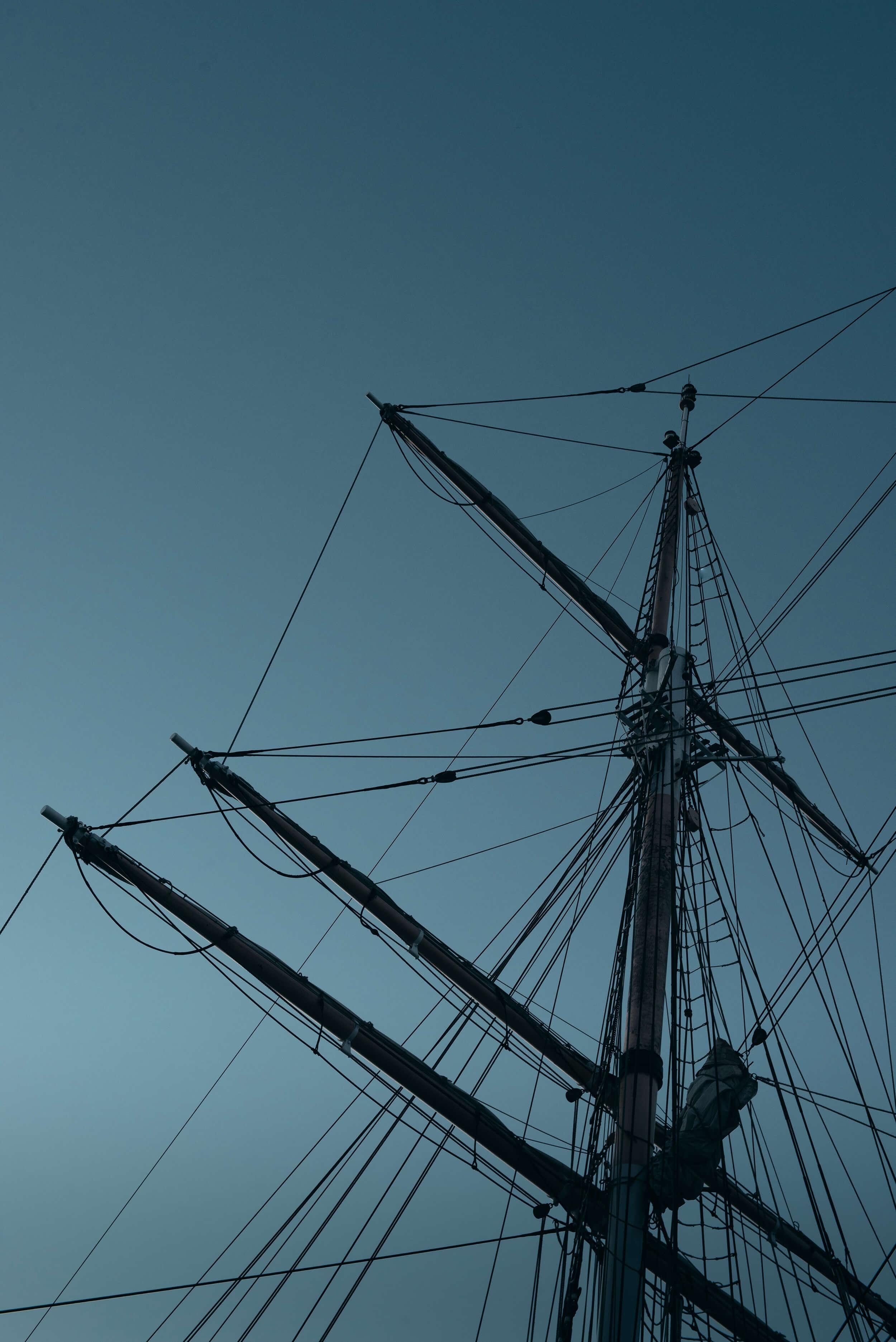 A pirate ships mast